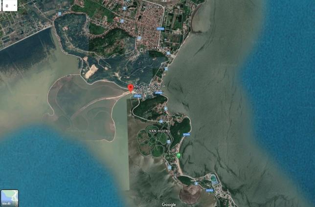 vị trí dragon ocean