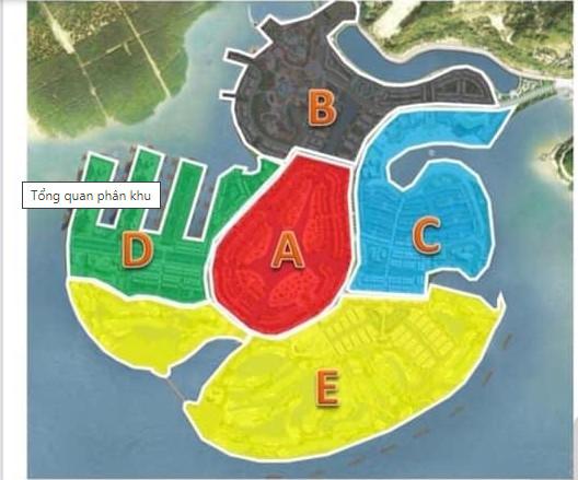 các phân khu Dragon Ocean