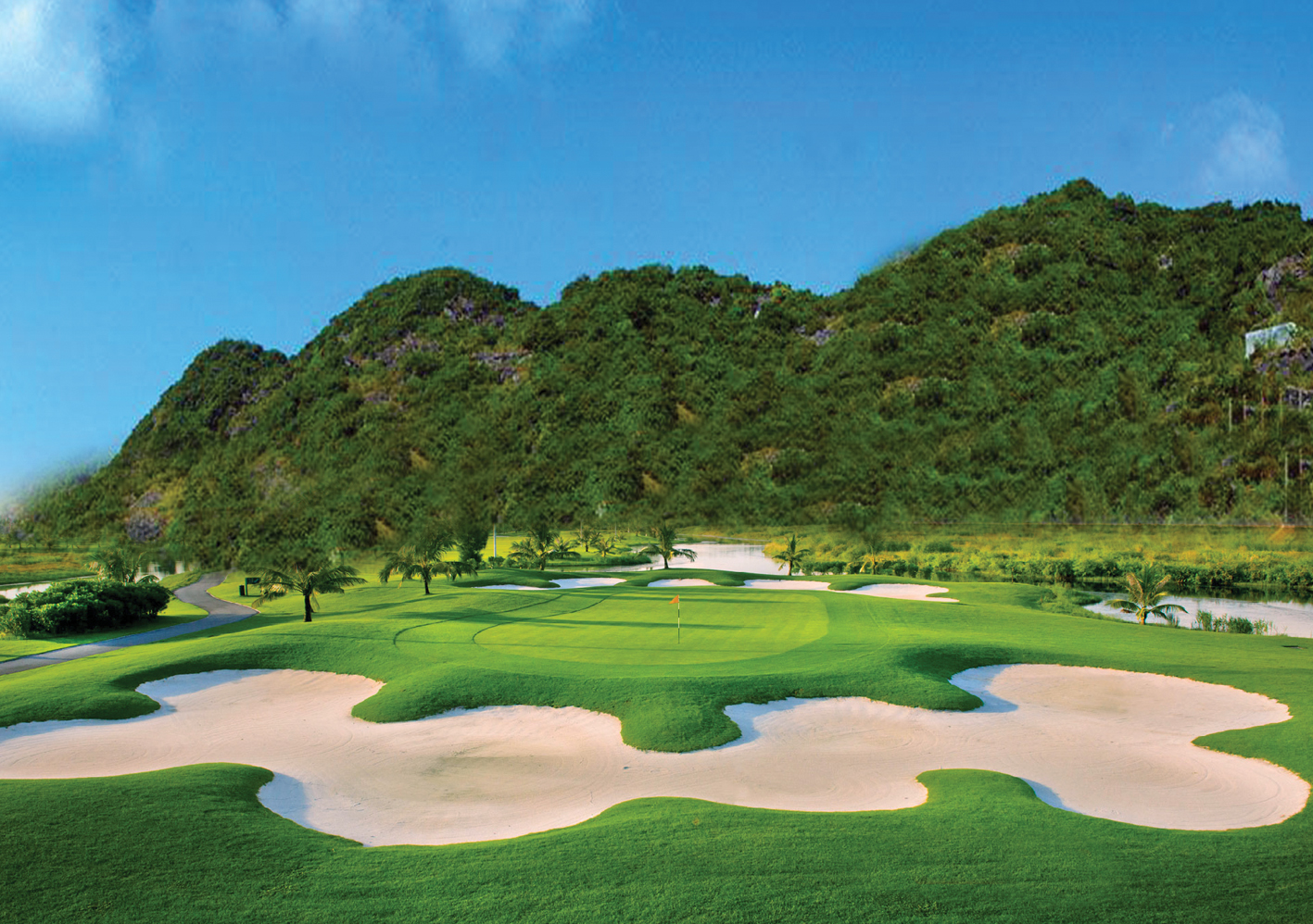 sân golf dragon ocean